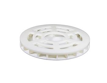 Plastic pressing lids
