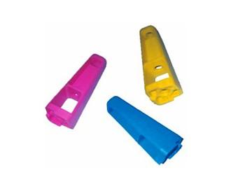 Pieds plastiques colorés et brevetés Servi Doryl