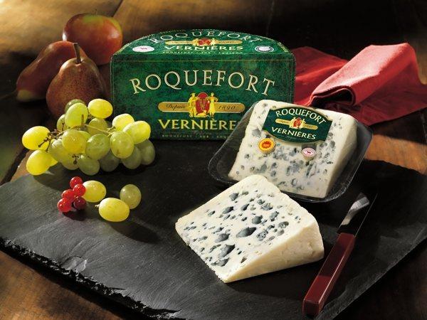 Fromage Roquefort Vernières